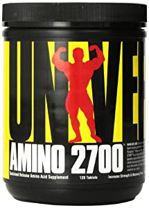 Universal Nutrition Amino 2700, 120 Tablets