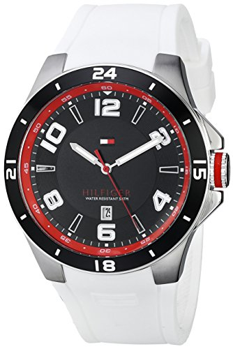 Tommy-Hilfiger-Mens-1790864-Sport-Bezel-and-Silicon-Strap-Watch