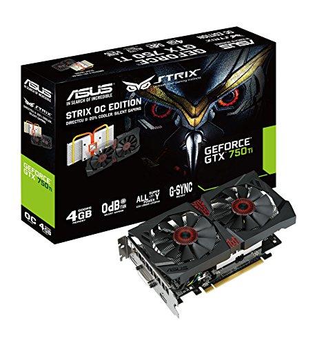 ASUS STRIX-GTX750TI-DC2OC-4GD5 NVIDIA GeForce GTX 750 Ti 4GB