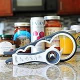 Gidli Jar Opener & 5-In-1 Multi Opener Set - Essential Rheumatoid Arthritis Kitchen Gadgets - Easy Can Lid & Bottle Top Opener With Rubber Grip - Ideal For The Elderly & Senior Arthritis Suffers