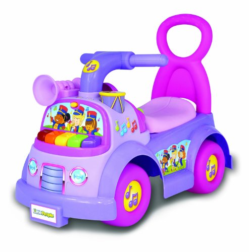 Fisher-Price Little People Music Parade Ride On, Purple (Girl Fisher Price Toys compare prices)