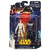 Luke Skywalker & Darth Vader Star Wars Mission Series MS09 Action Figure 2 Pack