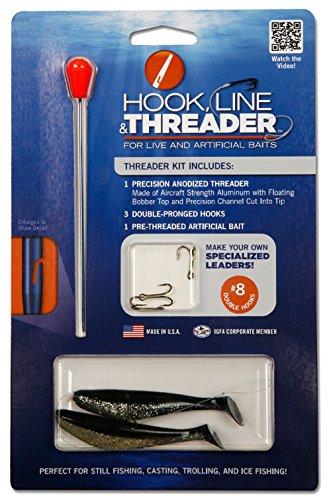 Hook Line & Threader Medium Threader Kit