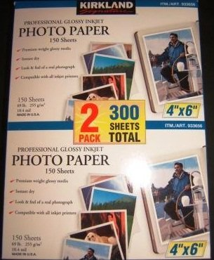 GLOSSY PHOTO PAPER 300GSM 50 SHEETS HP A4 PREMIUM PLUS INKJET GLOSS CR674A