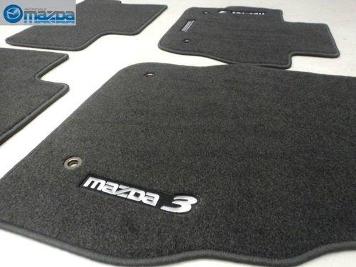 Mazda 3 2010 2013 New Oem Charcoal Gray Floor Mats Set Of