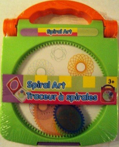 Spiral Art (Green/Orange) by Greenbrier