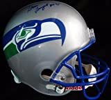 Steve Largent Autographed Seattle Seahawks Full Size Helmet Seahawks PSA/DNA ITP at Amazon.com