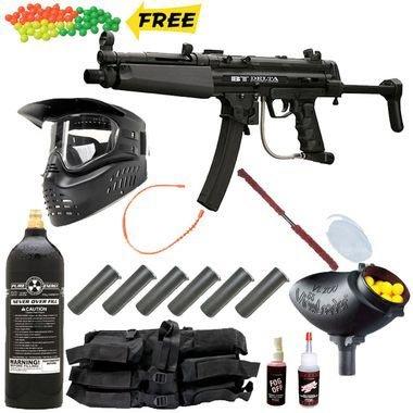 Bt Delta Tactical Paintball Gun Mega Set
