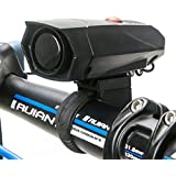 Dealpeak Ultra Loud 5 Modes Cycling Horns Bike Bicycle Handlebar Ring Bell Cycle Horn