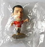 Ryan Giggs MicroStars Series 17 figure - Manchester United Home Kit - Gold Base MC11806 - similar to SoccerStarz