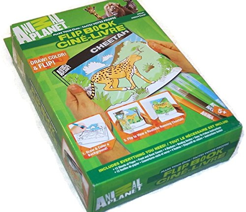 Animal Planet Flip-book.....Color, Draw, and Flip! by Horizon