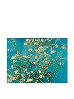 Artopweb Panel Decorativo Van Gogh Mandorli In Fiore A San Remy 60x80 cm Multicolor