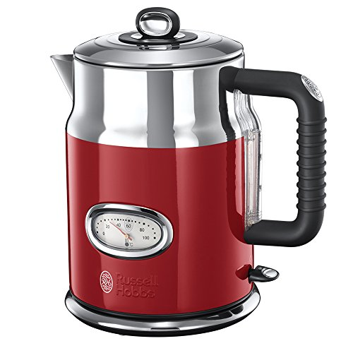 Russell Hobbs 21670-70 Retro Collection Bollitore, Red Ribbon