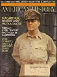 img - for American History Magazine (June 1996) (MacArthur and 1928 Olympics features) (Volume XXXI, No. 2) book / textbook / text book
