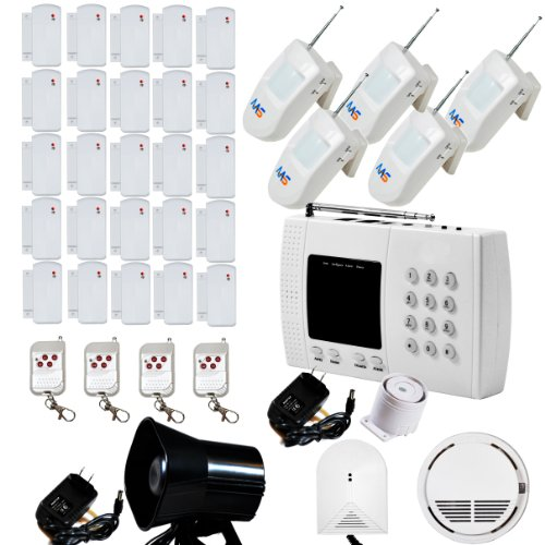 aas 600 wireless home security alarm system kit diy r