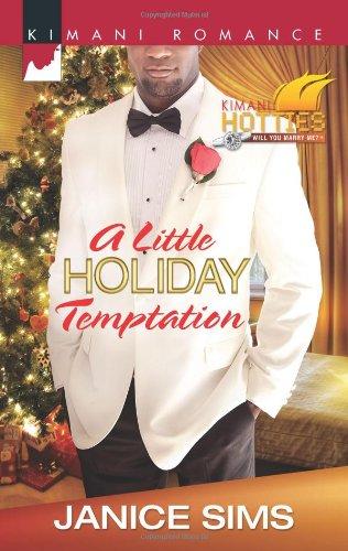 Image of A Little Holiday Temptation (Harlequin Kimani Romance\Kimani Hotties)