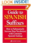 Guide to Spanish Suffixes (Language - Spanish)