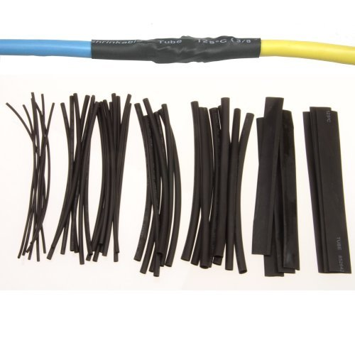 Anytime Tools 48 pc HEAT SHRINK TUBING WRAP SLEEVES ASSORTED SIZES