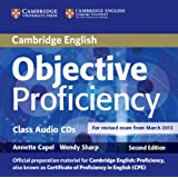 Objective Proficiency Class Audio CDs (2)