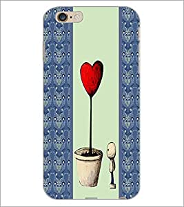 PrintDhaba Quote D-4785 Back Case Cover for APPLE IPHONE 6 PLUS (Multi-Coloured)