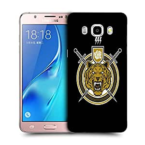 Snoogg Tiger Sword Designer Protective Back Case Cover For SAMSUNG GALAXY J5 2016 J510X