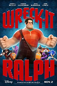 Wreck It Ralph 27x40 Inch Reversable Movie Lobby Poster