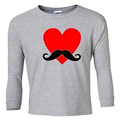 Mustache Love Youth Long Sleeve T-Shirt