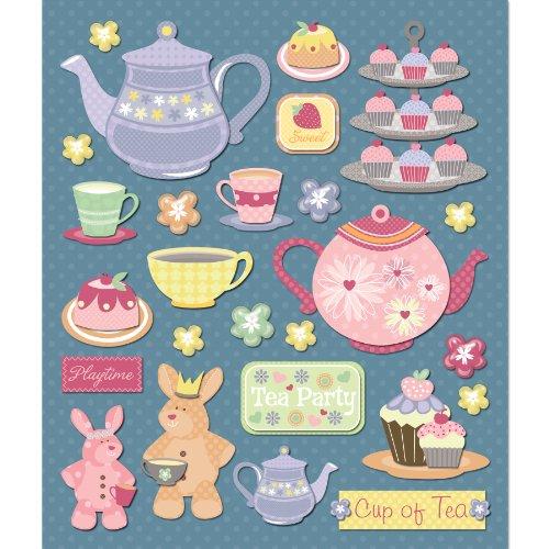 K&Company Tea Party Sticker Medley