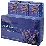 Aromatika® French Lavendar Incense Sticks (Agarbatti) Jumbo Pack Of Six (6) Boxes