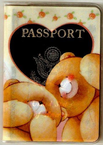 Forever Friends Teddy Bears Heart Love Passport