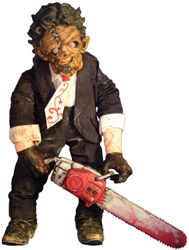 Mezco Toyz Cinema of Fear Deluxe Plush Series 2 Leatherface (Texas Chainsaw Massacre 2)
