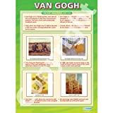 Van Gogh Art Educational Wall ChartPoster in laminated paper A1 850mm x 594mm