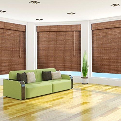 indian-ginger-bamboo-roman-shade-free-shipping-34x54