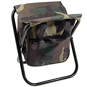 Amazon.com : Portable sillas camping Camo Folding chair Camp Stool