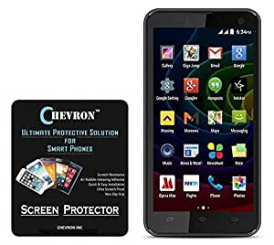 Chevron Aquashieldz Pro 0.33mm Tempered Glass Shatter Proof and Shock Absorbing Screen Protector for Micromax Bolt Q335