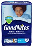Goodnites Boys Underwear Large/Extra Large, Boy, 20 Count (Pack of 3), Packaging May Vary