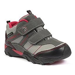 pediped Flex Max Mid-Cut Boot (Toddler/Little Kid/Big Kid), Charcoal, 27 EU (10-10.5 E US Little Kid)
