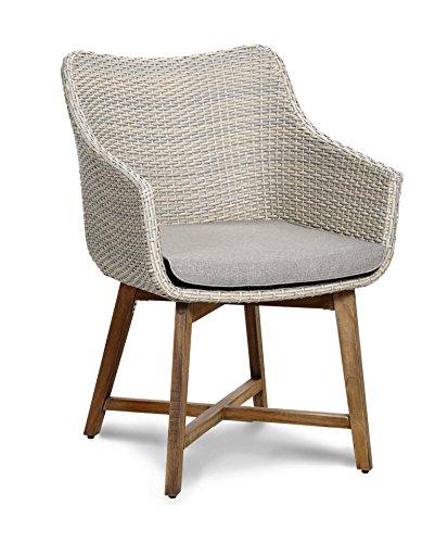 baumarkt direkt Gartenstuhl »Paterna« (2Stück) 2 Stühle, altweiß günstig kaufen