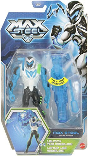 Max Steel Electro Cannon Max Steel Action Figure by Max Steel