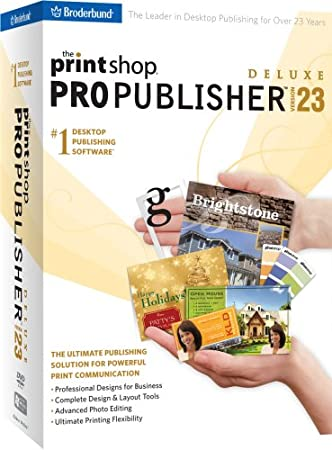 The Print Shop V23 Pro Publisher Deluxe