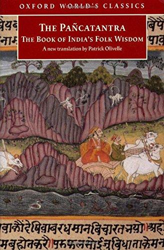 Pancatantra: The Book of India's Folk Wisdom (Oxford World's Classics)