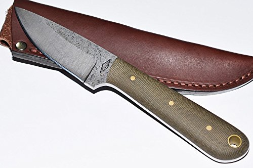 Battle Horse Knives Dan Coppins No.3 Green Micarta/Saber