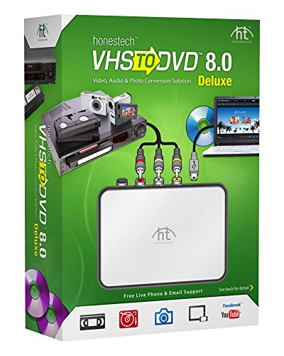 VIDBOX VHS to DVD 8.0 Deluxe (Image Converter Software compare prices)