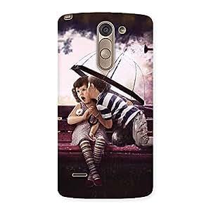Kid Kiss Back Case Cover for LG G3 Stylus