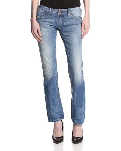Diesel Women's Lowky Straight Leg Jean