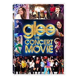 Glee: The Concert Movie on DVD