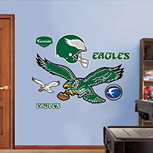 NFL Philadelphia Eagles Classic Logo Wall Graphics by Fathead