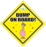 Bump On Board Car Sign Bump on Board Baby on Board Baby On Board Car Sign Bumper Sticker Grandchild on Board Pregnancy Maternity Mum to be baby on board Baby Car Sign New Mum Sign Maternity Sign Paternity Sign Baby Shower Sign