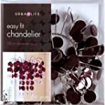 Chic Plum Easy Fit Chandelier Light S...