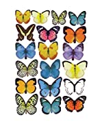 LO+DEMODA Vinilo Decorativo Butterflies Colors Multicolor